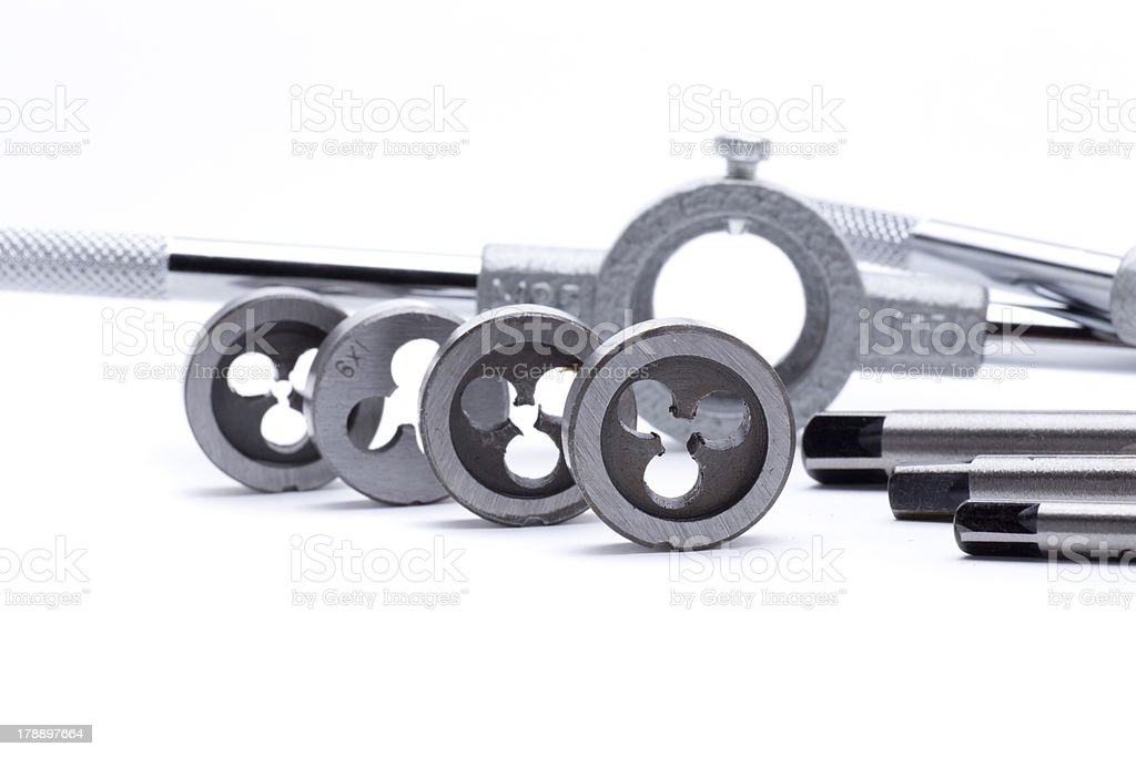 diestock metal royalty-free stock photo