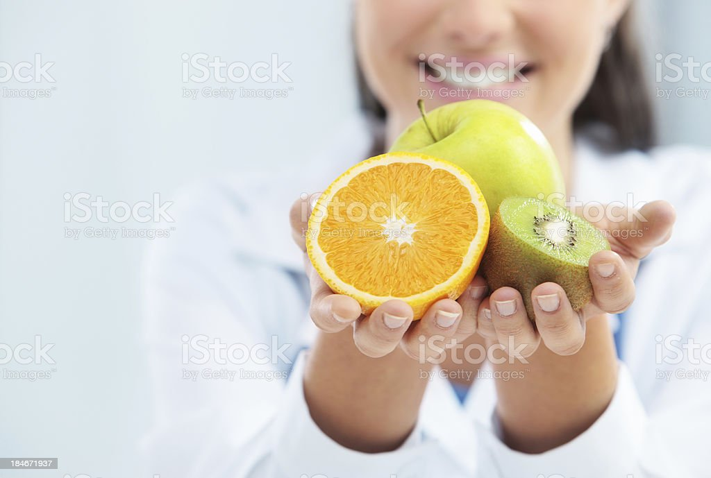 Diet and healthy food stock photo