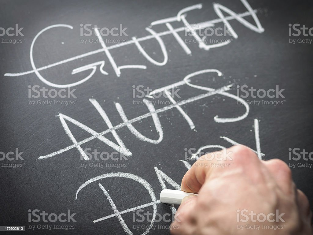 Diet and nutrition concept stock photo