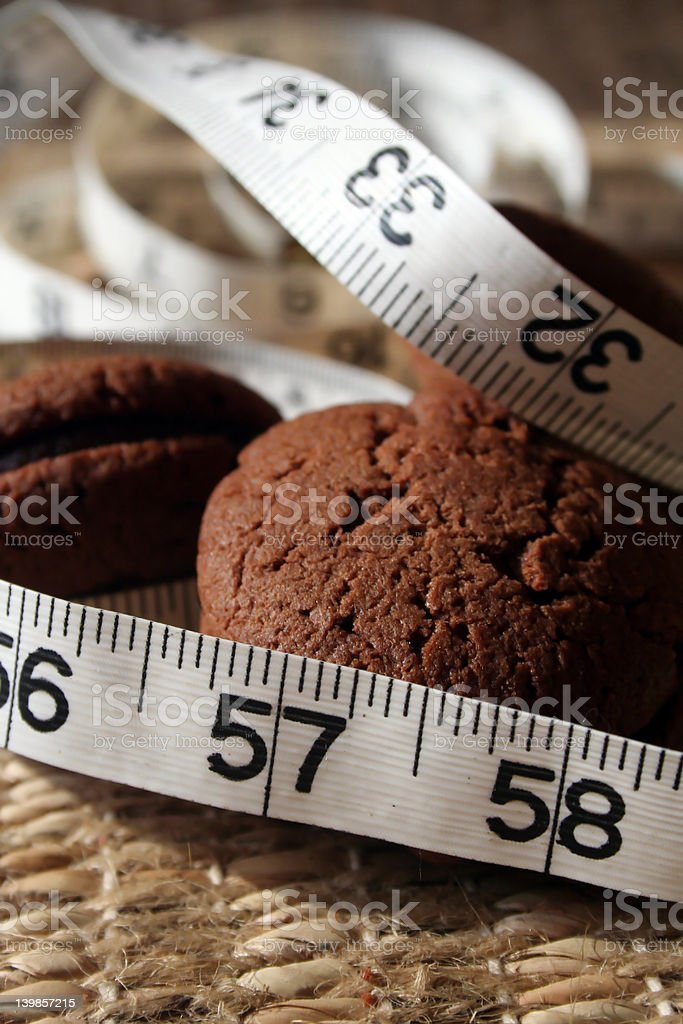 Diet and Temptation 1 royalty-free stock photo