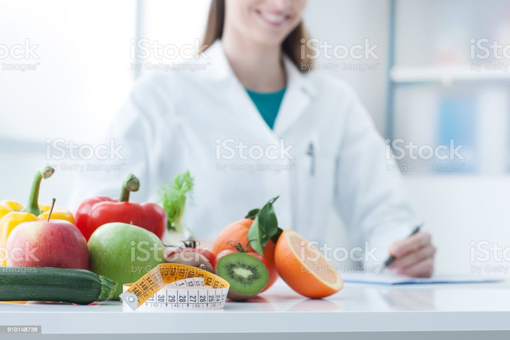 Diet and weight loss stock photo