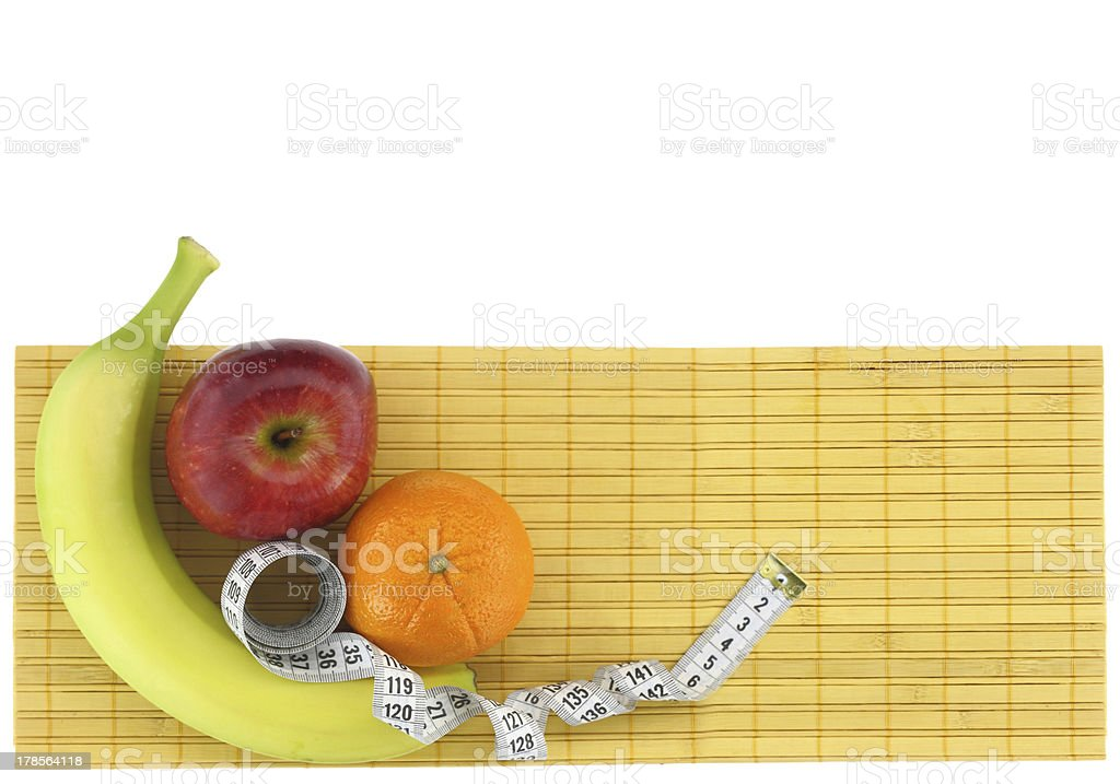 Diet banner royalty-free stock photo