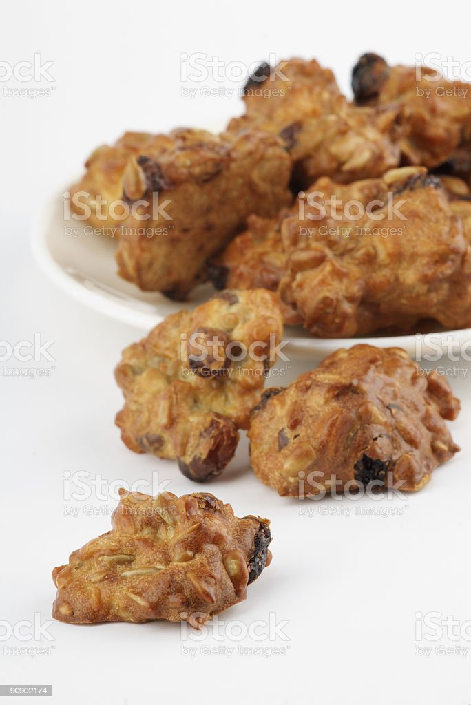 diet cookies without sugar stock photo