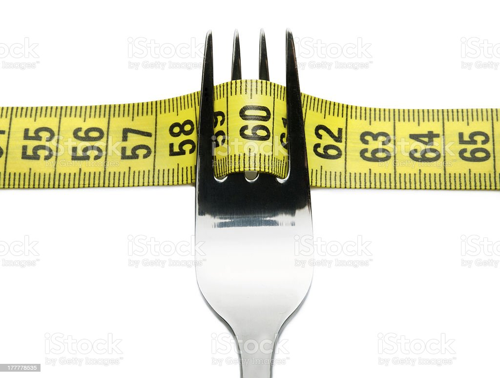 Diet eating royalty-free stock photo