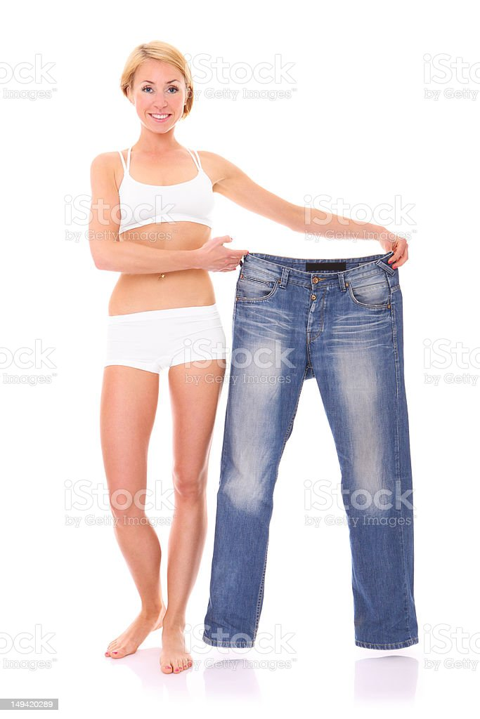 Diet effects royalty-free stock photo