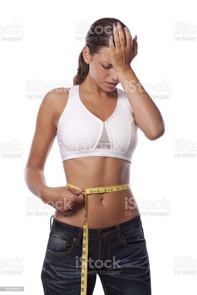 Diet failure stock photo