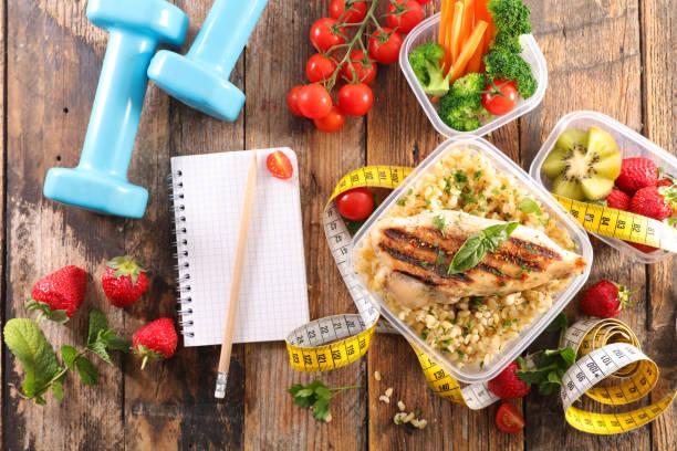 diet food concept stock photo