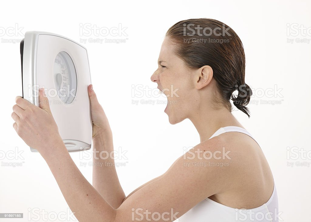 Diet gone wrong stock photo