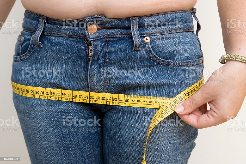 Diet needed royalty-free stock photo