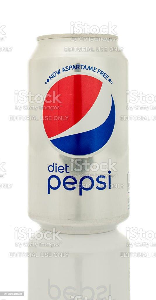 Diet Pepsi stock photo