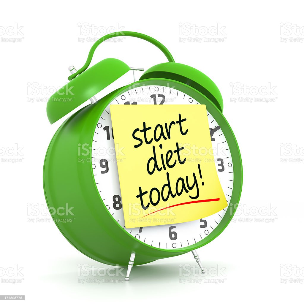 Diet Planning royalty-free stock photo