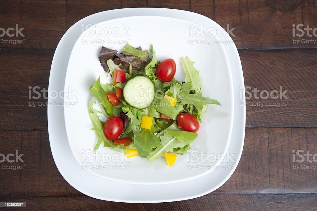Diet Salad royalty-free stock photo