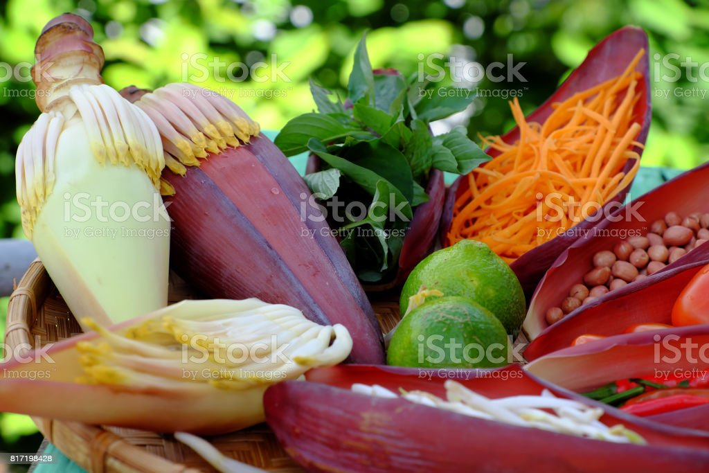 diet salad, vegetarian food stock photo