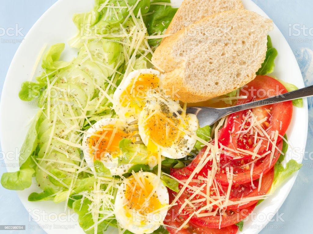 dieta de ensalada de lechuga y tomate