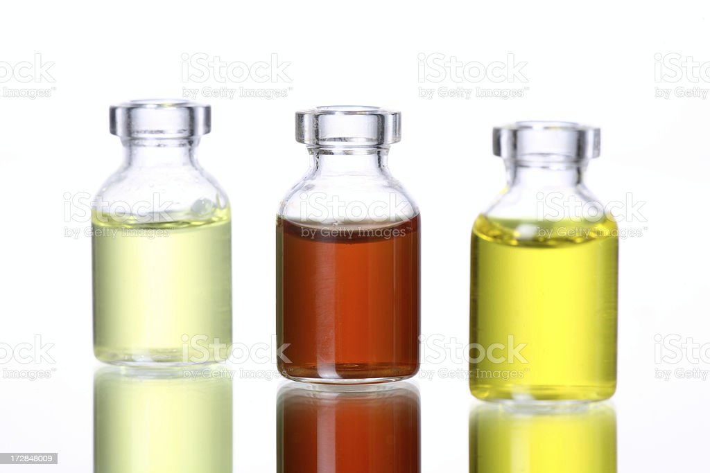 Diet Series Oils ans Vinegar royalty-free stock photo