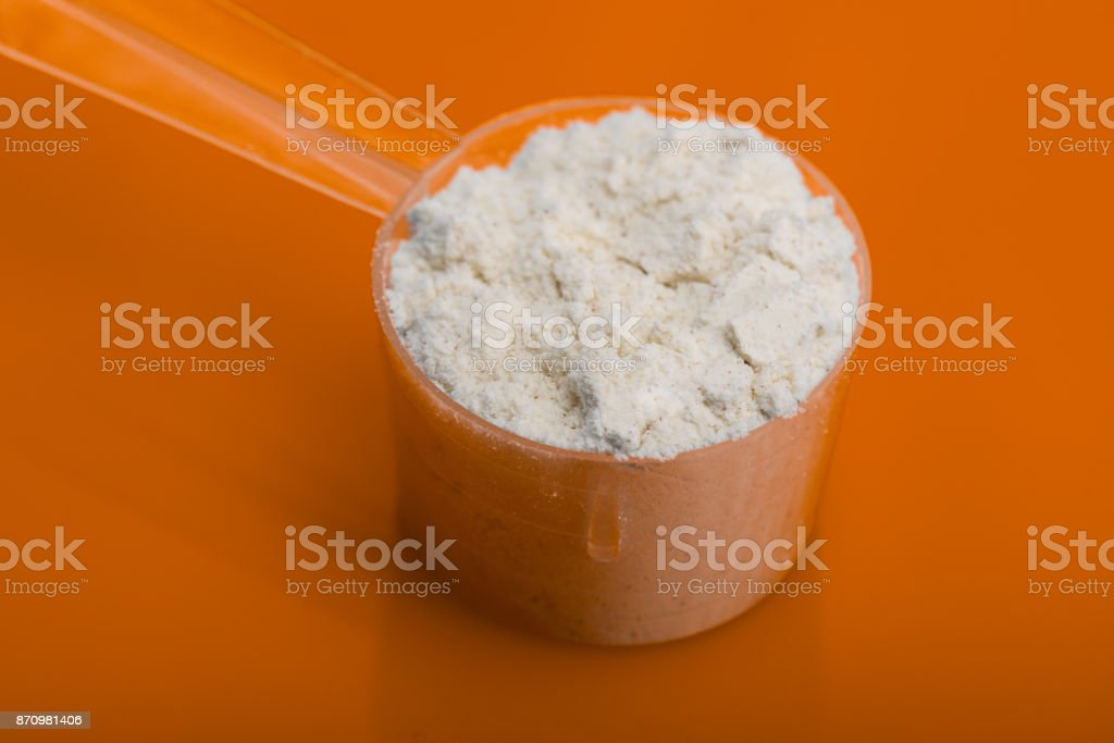 Diet supplement, glucosamine, fructose, dextrose or spirulina extract. Could also be a Sport Supplement like lysine, guarana, valine or protein powder. stock photo