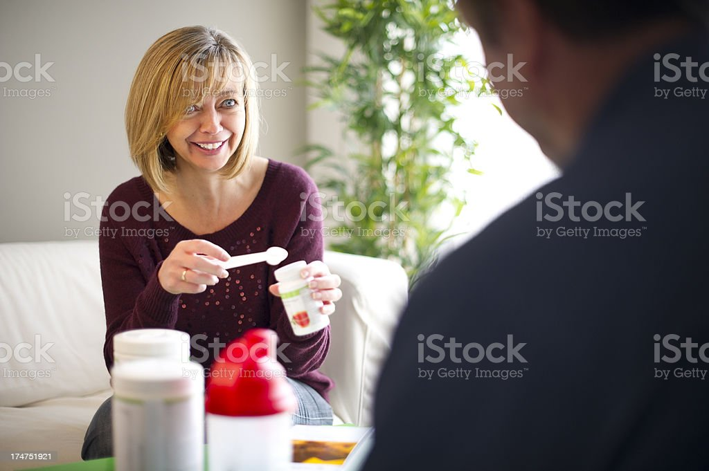 diet suppliments stock photo