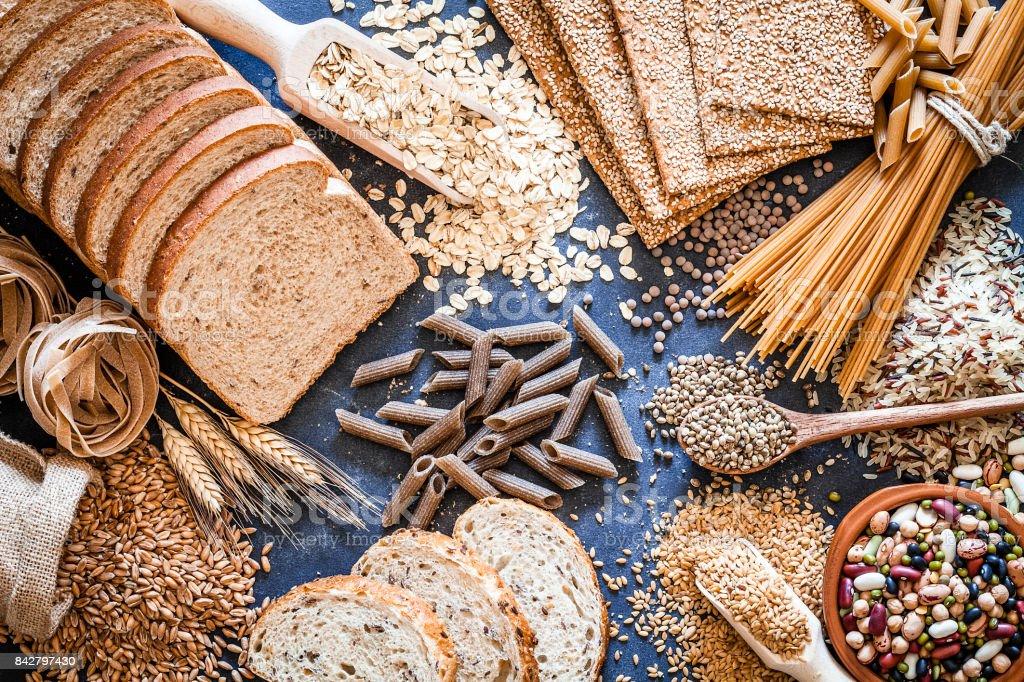 Dietary fiber food still life - Royalty-free Abundância Foto de stock