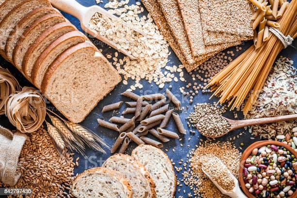 Dietary Fiber Food Still Life - Fotografias de stock e mais imagens de Abundância