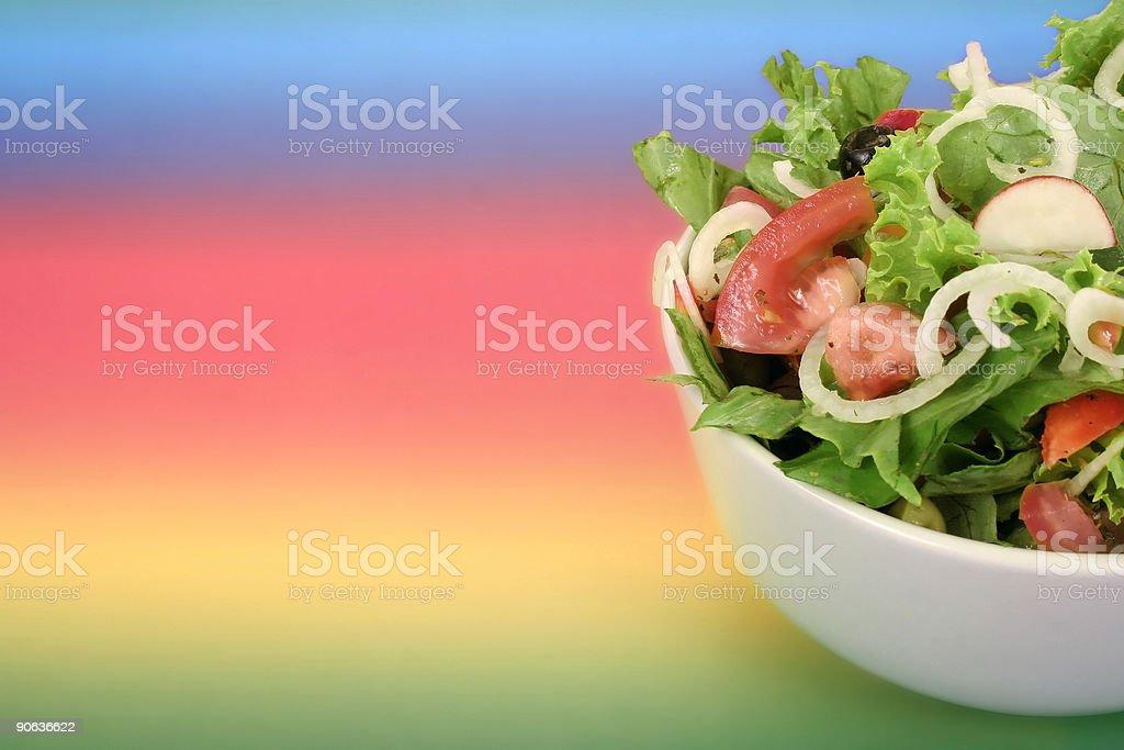 Dietary salad royalty-free stock photo
