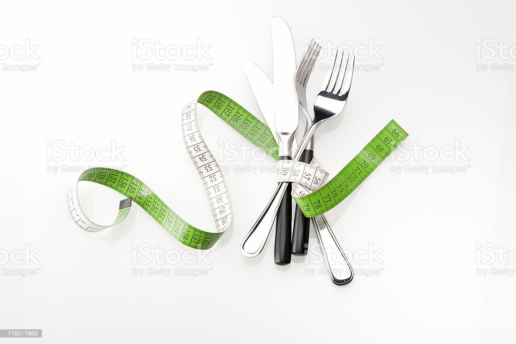dieting after the holidays royalty-free stock photo