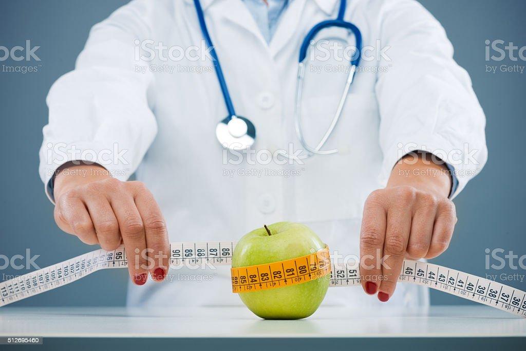O conceito de dieta e perda de peso - foto de acervo