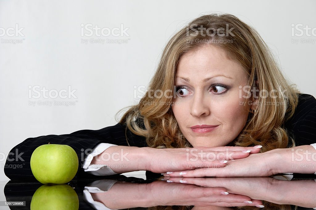 dieting blues royalty-free stock photo