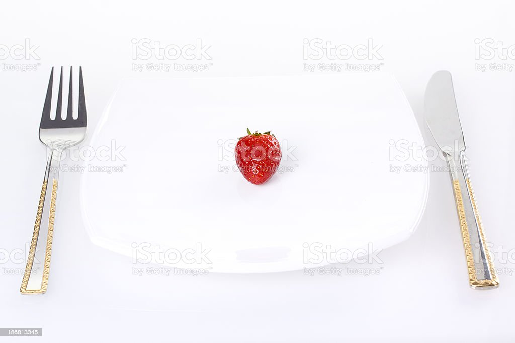 Dieting Concept royalty-free stock photo