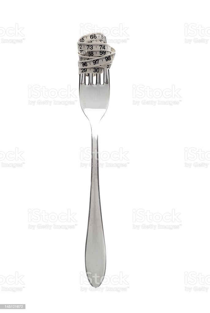Dieting II royalty-free stock photo