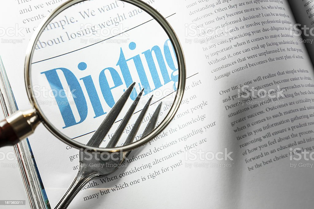 Dieting royalty-free stock photo
