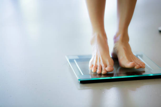 dieting - scale stock photos and pictures