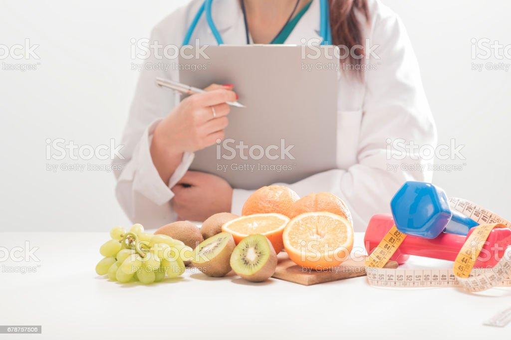 Dietitian doctor photo libre de droits