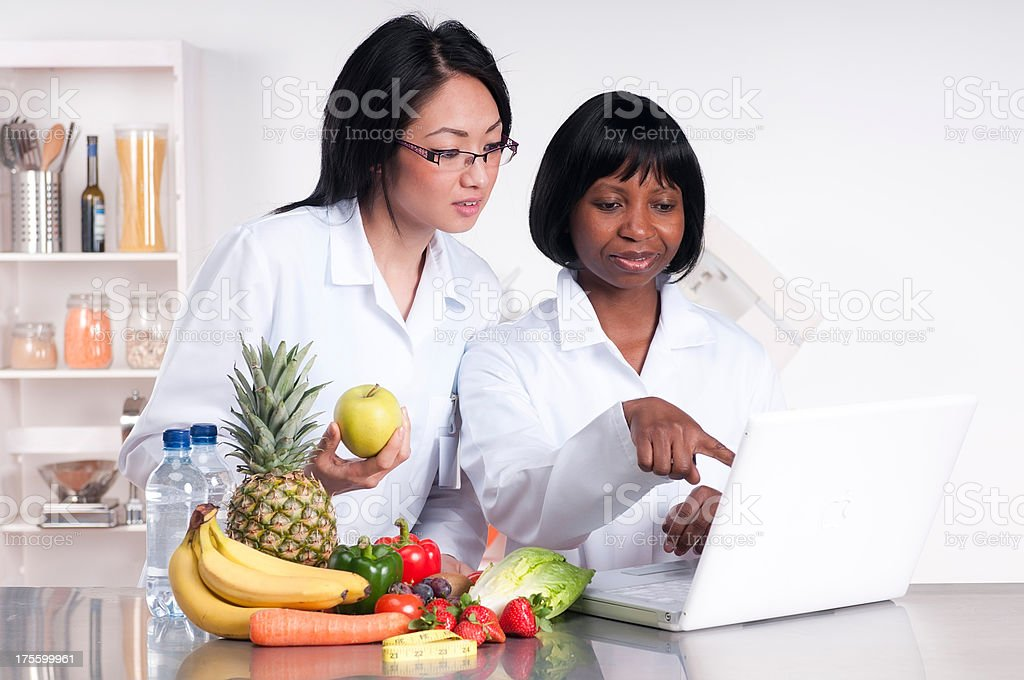 Dietitians royalty-free stock photo