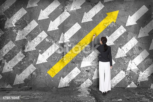 istock Difference thinking concept. 479376948