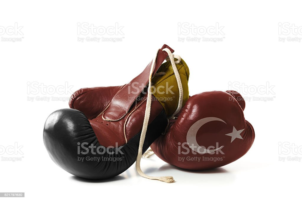 Differences between Turkey and Germany stock photo
