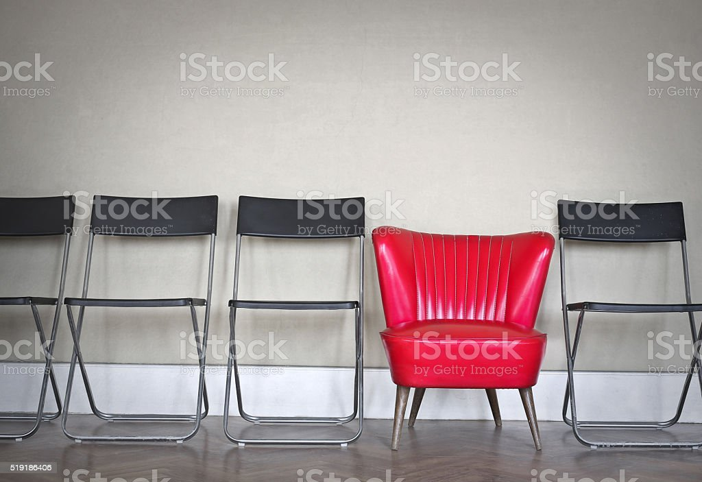 Different armchair stock photo