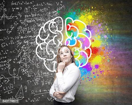 istock Different brain hemispheres 543174872