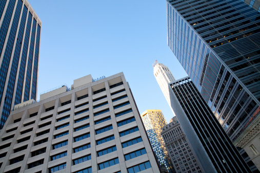 istock Different buildings in New York City 465686661