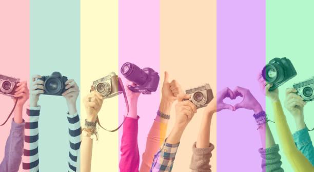 Different color hands and cameras also colorful background picture id910112458?b=1&k=6&m=910112458&s=612x612&w=0&h=h7 qbmcnptn6du  ewm1nqfyjolna4jmx3cxq3eouyw=