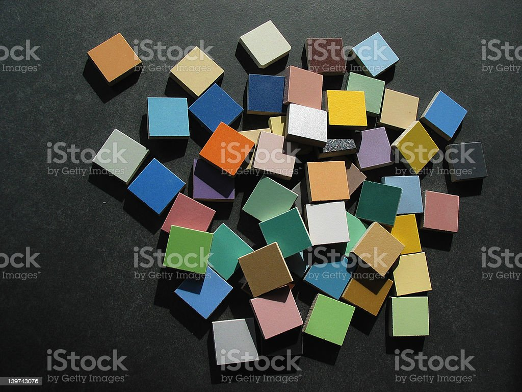 different colour samples royalty-free stock photo