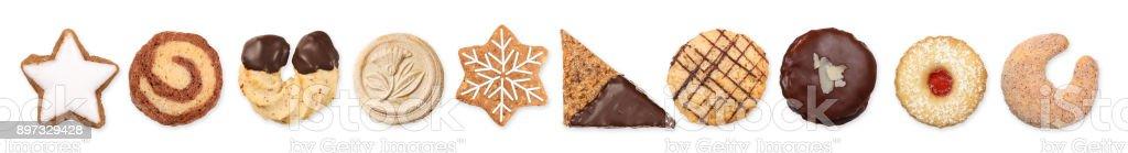 Different cookies 3 stock photo