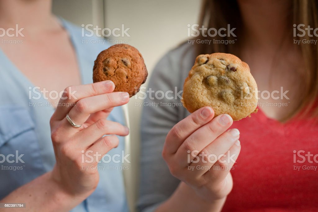 Different Cookies foto stock royalty-free