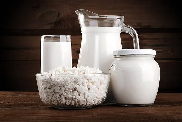 Verschiedene Milchprodukte – Foto