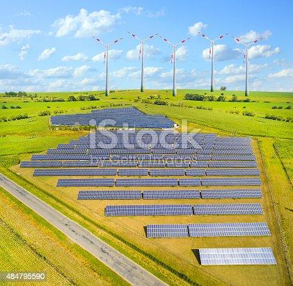istock Different energy resources. 484795590