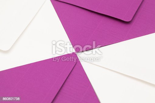 istock Different envelopes 860801738