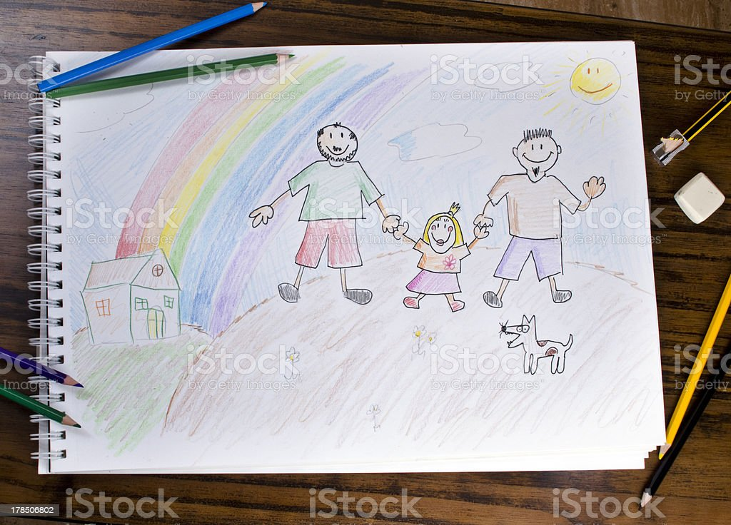 Different Family royalty-free stock photo