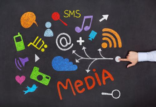 Socialmediakonzept Stockfoto und mehr Bilder von Berühren