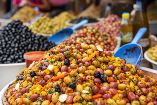 Verschiedene Arten von Oliven – Foto