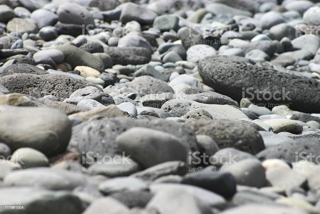 Different kinds of stones royalty-free stock photo