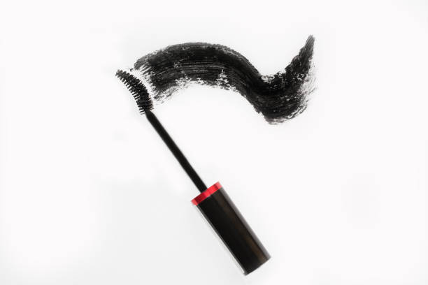 Different kinds of tassels mascara stock photo